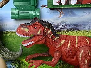 Игровой набор для детей «Динозавры» со звуком, 800-56, игрушки