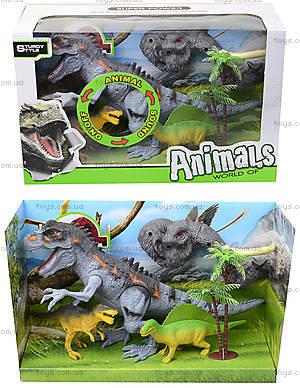 Набор «Динозавры» с аксессуарами для игры, 800-69