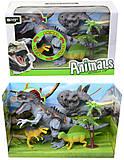 Набор «Динозавры» с аксессуарами для игры, 800-69, фото