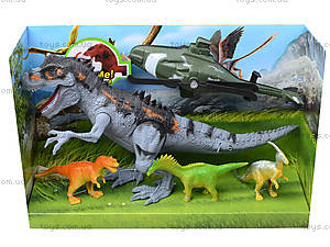 Игрушечные динозавры со звуковыми эффектами, 800-68, купить