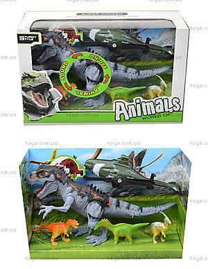 Игрушечные динозавры со звуковыми эффектами, 800-68