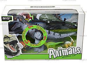 Игрушечные динозавры со звуковыми эффектами, 800-68, отзывы