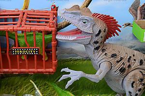 Игровой набор «Динозавр» со светом и звуком, 800-63, фото