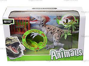 Игровой набор «Динозавр» со светом и звуком, 800-63, цена
