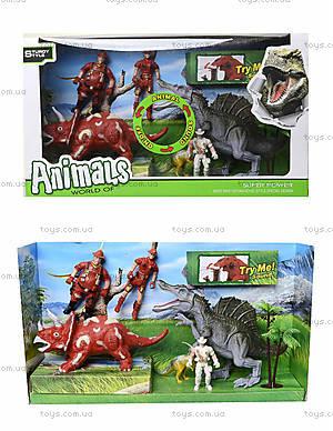 Динозавр с игровыми аксессуарами, 800-57
