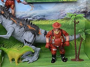 Игровой набор динозавров с аксессуарами, 800-75, купить