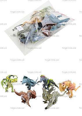 Набор игрушечный животных «Драконы», 238-2