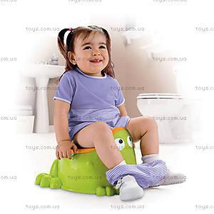 Детский горшок «Веселый лягушонок», X4808, фото