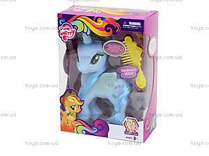 Детская игрушка «Единорог» с расческой, 058, цена