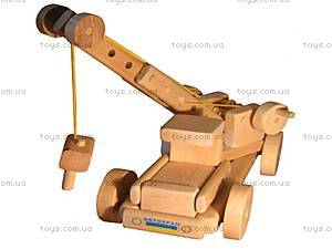 Детский эко - конструктор »Автокран», MOBK, toys.com.ua