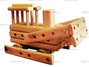 Деревянный конструктор «Бульдозер», 171894, отзывы