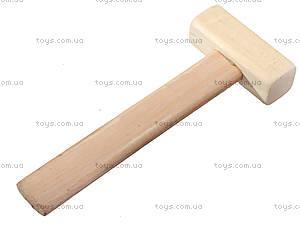 Деревянный конструктор «Бульдозер», 171894, детские игрушки