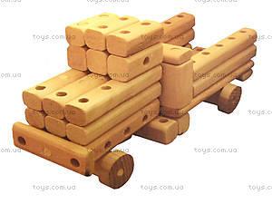 Деревянный конструктор «Грузовик», 171893, цена