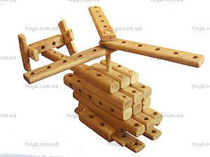Игрушечный эко-конструктор «Вертолет», HELLY, детские игрушки
