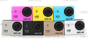 Экшн-камера SJCam SJ4000, черная, SJ4000-Black, детские игрушки