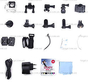 Экшн-камера SJCam SJ4000, черная, SJ4000-Black, toys.com.ua