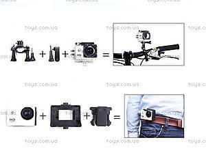 Экшн-камера SJCam SJ4000, черная, SJ4000-Black, іграшки