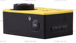 Экшн-камера SJCam SJ4000, желтая, SJ4000-Yellow, купить