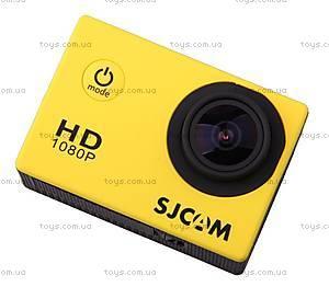 Экшн-камера SJCam SJ4000, желтая, SJ4000-Yellow, фото