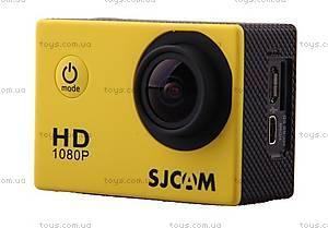 Экшн-камера SJCam SJ4000, желтая, SJ4000-Yellow