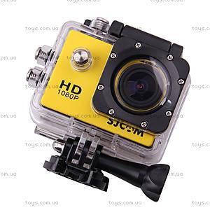 Экшн-камера SJCam SJ4000, желтая, SJ4000-Yellow, цена