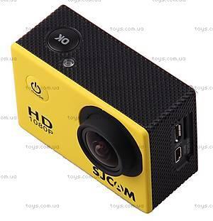 Экшн-камера SJCam SJ4000, желтая, SJ4000-Yellow, детские игрушки