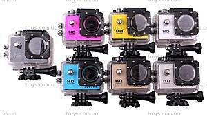 Экшн-камера SJCam SJ4000, желтая, SJ4000-Yellow, toys.com.ua