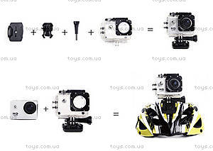 Экшн-камера SJCam SJ4000, желтая, SJ4000-Yellow, toys