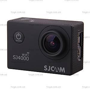 Экшн-камера SJCam SJ4000 WiFi оригинал, черный, SJ4000WiFi-Black, купить