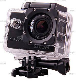Экшн-камера SJCam SJ4000 WiFi оригинал, черный, SJ4000WiFi-Black