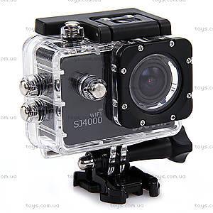 Экшн-камера SJCam SJ4000 WiFi оригинал, черный, SJ4000WiFi-Black, цена