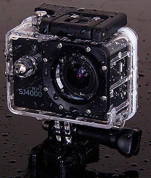 Экшн-камера SJCam SJ4000 WiFi оригинал, черный, SJ4000WiFi-Black, игрушки