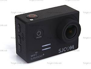 Экшн-камера SJCam SJ5000+WIFI 1080p, SJ5000pls-Black, купить