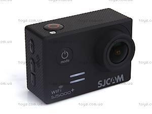 Экшн-камера SJCam SJ5000+WIFI 1080p, SJ5000pls-Black, купить