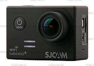 Экшн-камера SJCam SJ5000+WIFI 1080p, SJ5000pls-Black