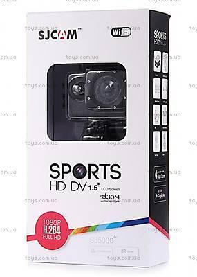 Экшн-камера SJCam SJ5000+WIFI 1080p, SJ5000pls-Black, фото