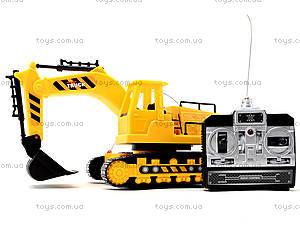 Экскаватор на радиоуправлении для детей, 3699-CY7, магазин игрушек