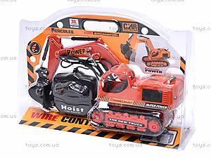 Экскаватор, на управлении, 6881Р, игрушки