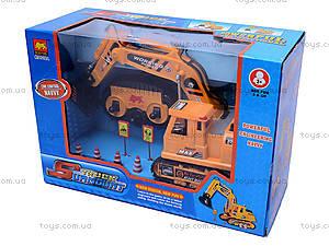 Экскаватор с дистанционным управлением, B918А, игрушки