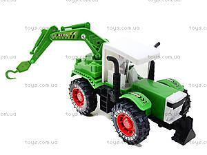 Экскаватор инерционный Super Truck, 3368-1, игрушки