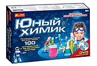 Эксперименты юного химика «100 опытов по химии», 0306, купить