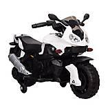 """Электромобиль """"Мотоцикл"""" белый, T-72191 WHITE, toys"""