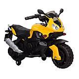 """Электромобиль """"Мотоцикл"""" желтый, T-72191 YELLOW, детский"""