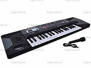 Электро синтезатор, с микрофоном, 0889