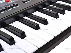 Электро синтезатор, с микрофоном, 0889, фото