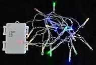 Электрогирлянда уличная, 15 LED лампочек, 1,6 м, 801130, магазин игрушек