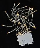 Электрогирлянда уличная 30 LED лампочек 3,10 м, 801134, іграшки
