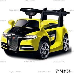Электроквадроцикл Bugatti, желтый, ZPV001-YELLOW