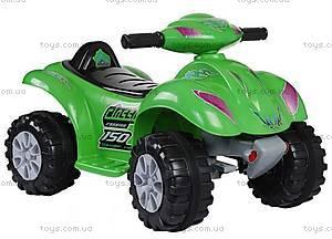Электроквадроцикл Classic, зеленый, CH910-GREEN