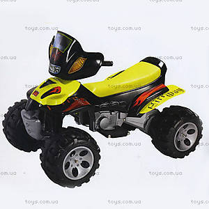 Электроквадроцикл Fire Way, желтый, 460